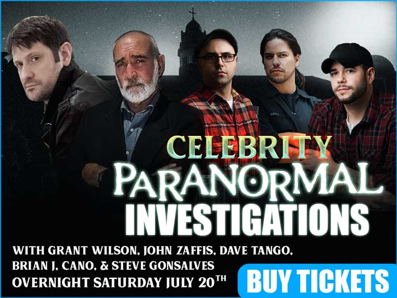 Celebrity Paranormal Investigation